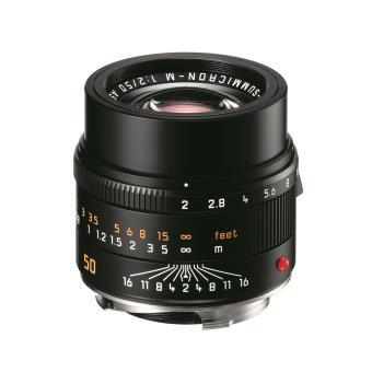 Leica APO Summicron M 50mm f/2 ASPH. Lens Zwart