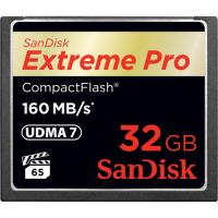 Carte Mémoire CompactFlash SanDisk Extreme Pro 32 Go