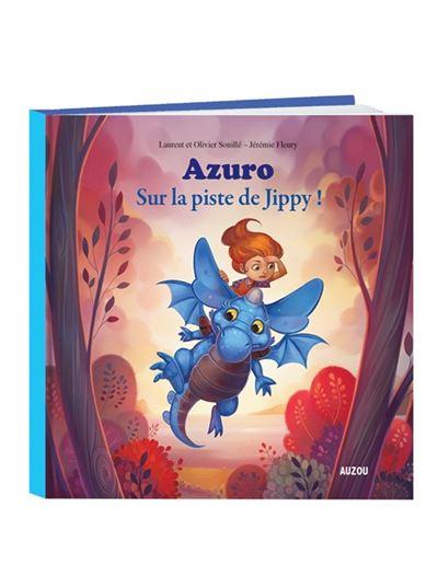 Azuro - tome 2 sur la piste de jippy (grand format)