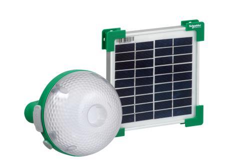 lampe solaire schneider