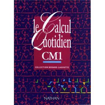 Le Calcul Quotidien Cm1 Livre Eleve