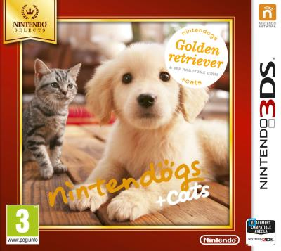 Nintendogs + Cats Golden Retriever 3DS