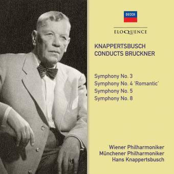 Knappertsbuch Conducts Bruckner Symphonies 3,4,5,8