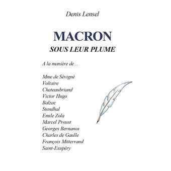 Macron sous leur plume