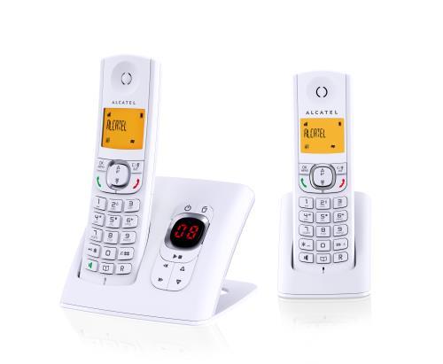 Alcatel F 570 Voice Duo Blanc