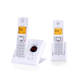 Alcatel F 570 Voice Duo Blanc
