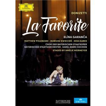 Donizetti : La Favorite Blu-ray