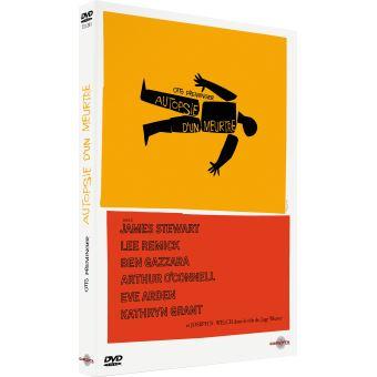 Autopsie d'un meurtre DVD