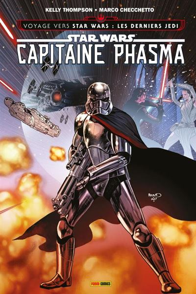 Star Wars - Capitaine Phasma - La survivante - 9782809474374 - 9,99 €