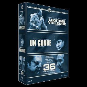 Coffret Polar Le 36 3 Films DVD