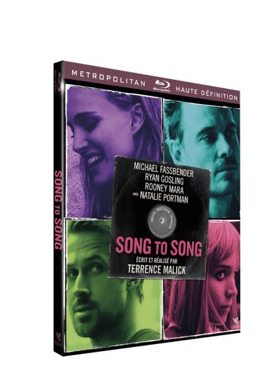 blu-ray de Song to song