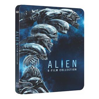 AlienCoffret Alien L'intégrale des 6 films Steelbook Edition Limitée Blu-ray