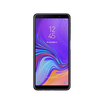 Smartphone Samsung Galaxy A7 64Go Noir + Double Sim