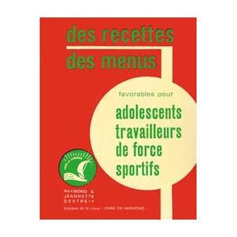 Recettes Et Menus Pour Adolescents