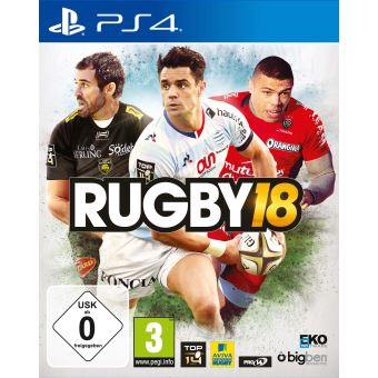 rugby 18 ps4 sur playstation 4 jeux vid o achat prix. Black Bedroom Furniture Sets. Home Design Ideas