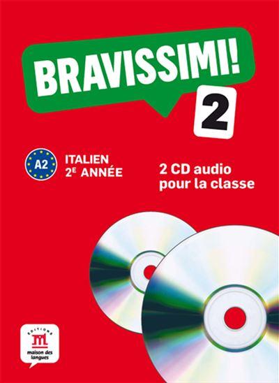 Bravissimi! 2 - coffret 2 cd audio classe