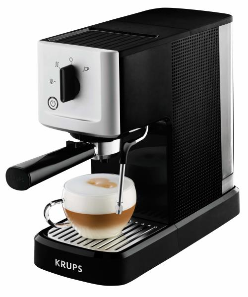 Expresso Avec Percolateur Krups Xp344010 1460w Noir Et Inox
