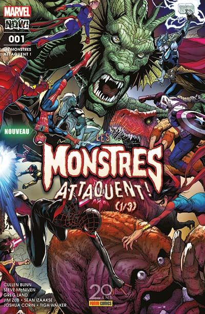 Les monstres attaquent ! - Tome 1 : Les monstres attaquent ! n°1