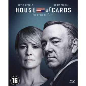 House Of Cards - Seizoen 1-5 | Bluray (NL)