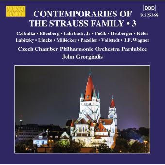 CONTEMPORARIES OF THE STRAUSS FAMILY, VOL. 3
