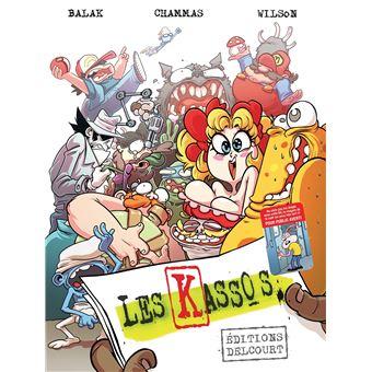 Fabulous Les Kassos - cartonné - Renaud Chammas, Balak, Wilson Dos Santos  HA69