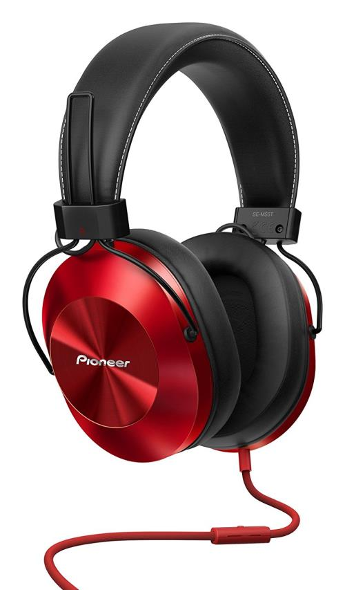 Casque Pioneer SE-MS5T-R Rouge