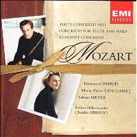 Concerto pour flûte N°1 - Concerto pour flûte et harpe - Concerto pour clarinette