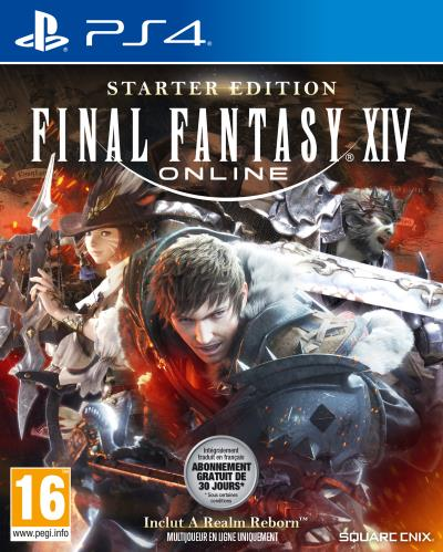 Final Fantasy XIV Online Edition Starter PS4