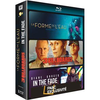 Coffret 3 Billboards Les panneaux de la vengeance La Forme de l'eau In The Fade Edition Fnac Blu-Ray