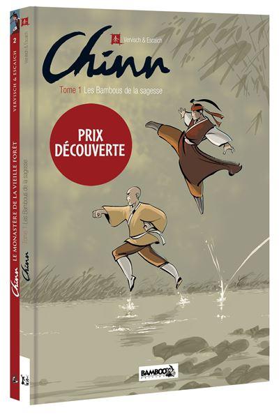 Chinn - pack découverte - tomes 01 et 02