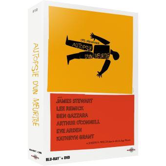Autopsie d'un meurtre Edition Prestige 10 Limitée Combo Blu-ray DVD