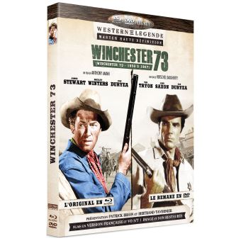 Coffret Winchester 73 Édition Collector Limitée Combo Blu-ray DVD