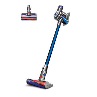 aspirateur balai dyson v6 fluffy bleu et rouge achat prix fnac. Black Bedroom Furniture Sets. Home Design Ideas