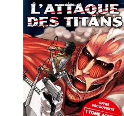 L'Attaque des Titans - Coffret 2 volumes, Tome 1 et Tome 2 Tome 02 : L'Attaque des Titans T01 et