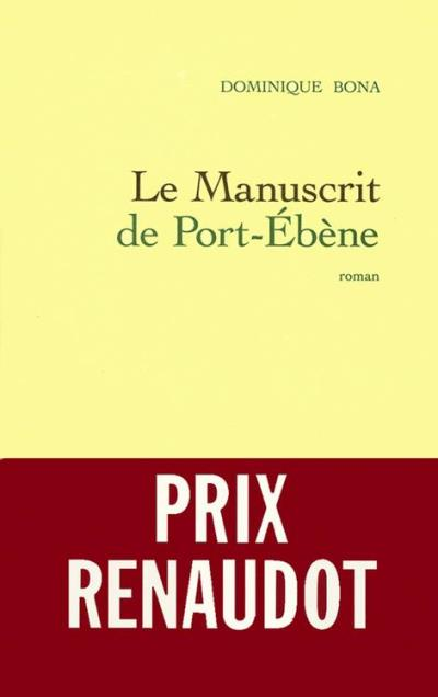 Le manuscrit de Port-Ebène - 9782246537090 - 6,49 €