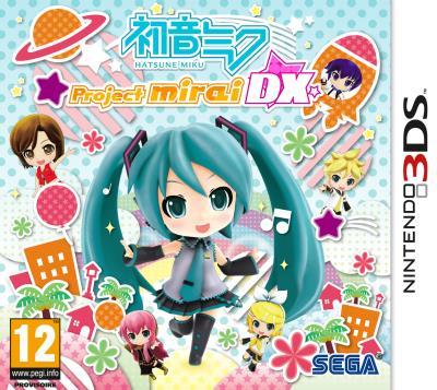 Hatsune Miku Project Mirai DX 3DS - Nintendo 3DS