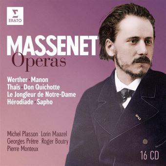 MASSENET OPERAS/16CD