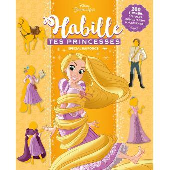 RaiponceHabille tes princesses Les Princesses à travers les âges