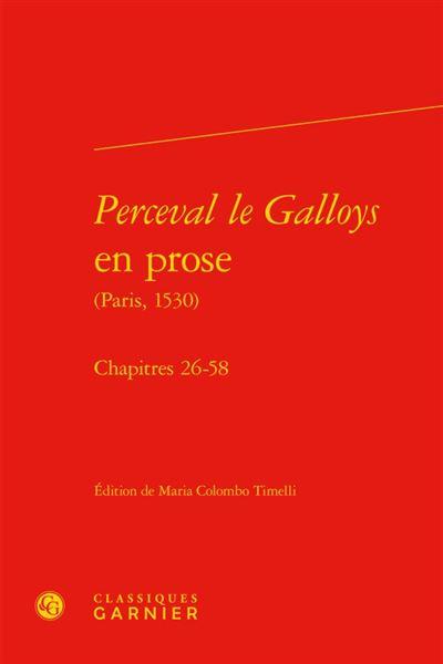 Perceval le Galloys en prose