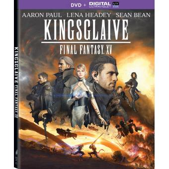 Kingsglaive Final Fantasy XV DVD