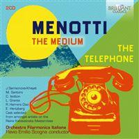 MEDIUM THE TELEPHONE/2CD