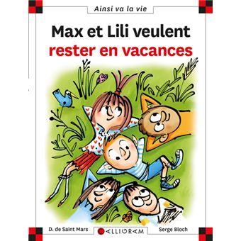 Max et LiliMax et lili veulent rester en vacances