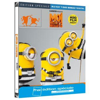 Moi, moche et méchantMoi, moche et méchant 3 Steelbook Edition spéciale Fnac Blu-ray