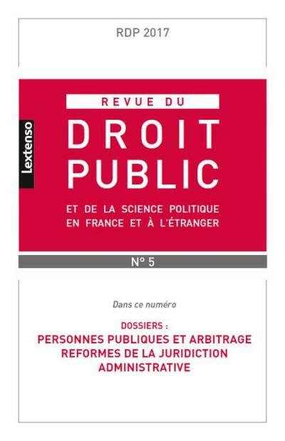 Personnes publiques et arbitrage