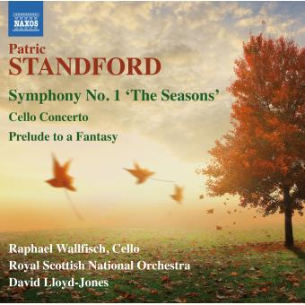 """Symphonie Numéro 1"""" The seasons"""" - Concerto pour violoncelle - Prelude to a fantasy"""
