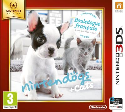 Nintendogs + Cats Bouledogue Français 3DS