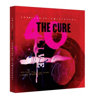 Curaetion 25 - Anniversary - 2Blu-ray + 4CD