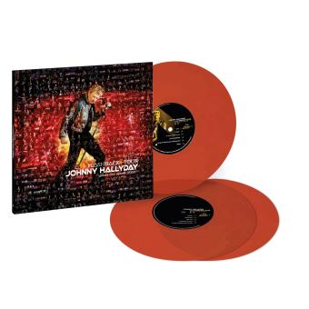 Flashback Tour Palais des sports 2006 Edition Limitée Vinyle orange transparent