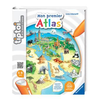 Livre Interactif Mon Premier Atlas Tiptoi Ravensburger
