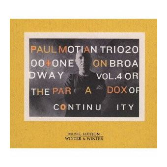 On broadway vol 4 or the paradox of continuity/pochette cart